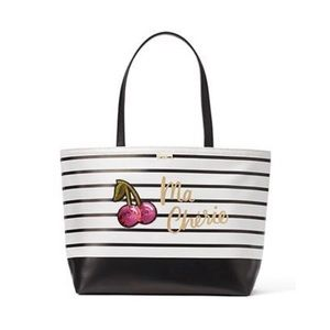New Kate Spade Ma Cherie Cherries Francis Tote